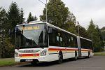 Vůbec prvním autobusem Urbanway 18M v ČR se stal autobus karlovarského dopravního podniku
