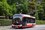 Možná podoba trolejbusů nabízených firmou SOR – na ilustračním obrázku opavský trolejbus Škoda 32Tr v karoserii SOR NS 12